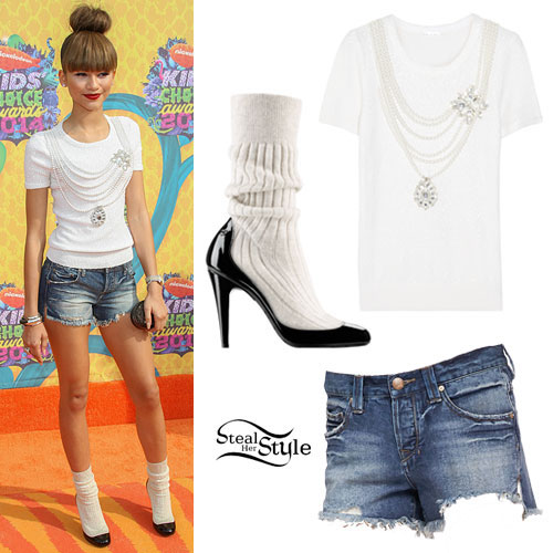 Zendaya 2014 Kids Choice Awards Outfit
