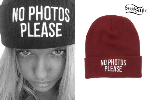Alli Simpson No Photos Please Beanie Steal Her Style