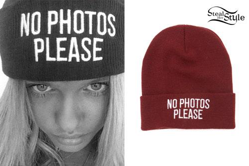 Alli Simpson: No Photos Please Beanie