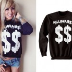 Allison Green: Dollar Sign Sweatshirt