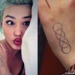 Asami Zdrenka infinity hand tattoo
