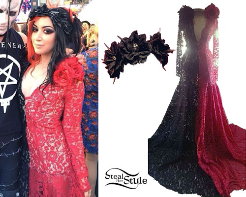 Ash Costello: 2014 Revolver Golden Gods Awards Outfit