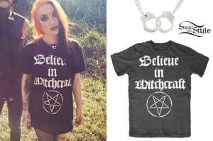 Ash Costello: Believe In Witchcraft Tee