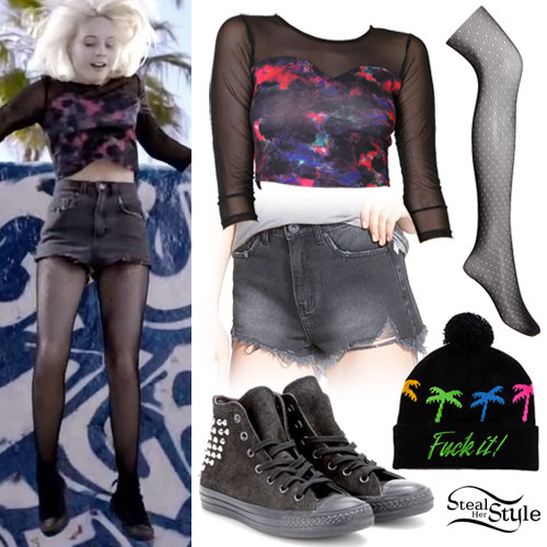 Bea Miller: 'Rich Kids' Video Outfit