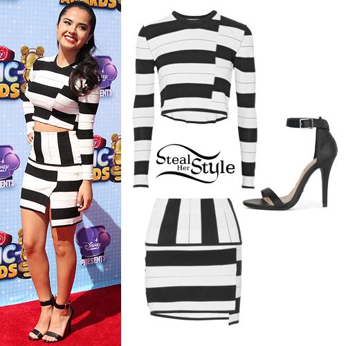 Becky G: 2014 RDMAs Outfit