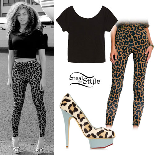 Perrie Edwards Steal Her Style 2014 Beyoncé: Leopard ...