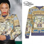 Beyonce: Lion's Head Sweatshirt
