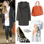 Cheryl Cole: Bambi Tee, Orange Tote Bag