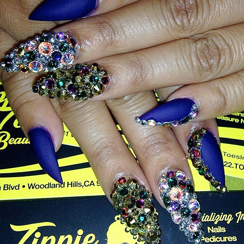 Honey Cocaine Nails | Steal Her Style