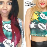 Lauryn McClain: Pop Bang Crop Top