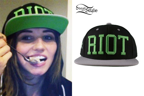 LIGHTS: RIOT Snapback Hat