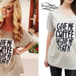 Liz Mace: Coffee or Death Tee
