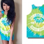 Melissa Marie Green: Tie Dyed Tank Top