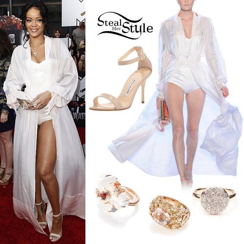 Rihanna: 2014 MTV Movie Awards Outfit