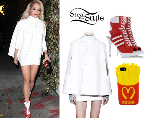 Rita Ora arriving at the Chateau Marmont in Los Angeles, April 13th, 2014 - photo: oraimages