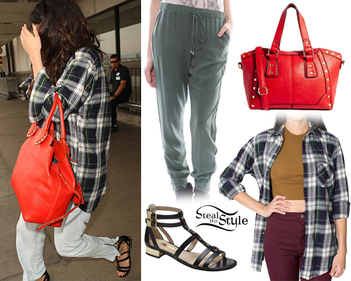 Selena Gomez arriving at LAX Airport in Los Angeles, April 8th, 2014 - photo: smg-news
