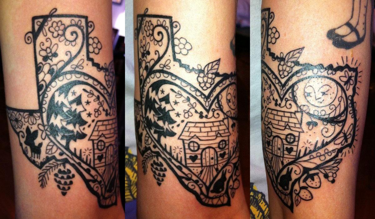 sherri dupree bemis tattoos steal her style. Black Bedroom Furniture Sets. Home Design Ideas