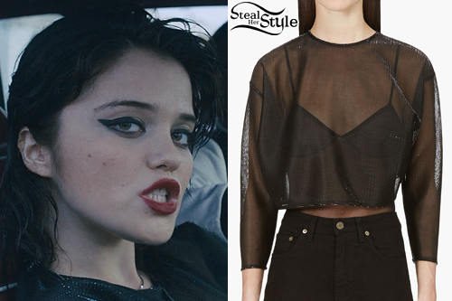 "Sky Ferreira in the ""I Blame Myself"" Music Video - video: ssense"