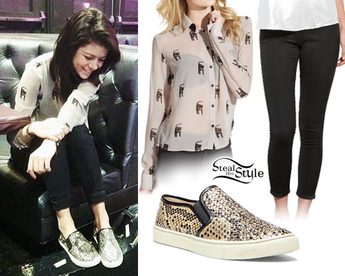 Tay Jardine: Snakeskin Slip-On Shoes
