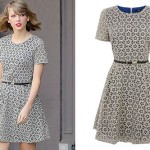 Taylor Swift: Printed Skater Dress