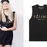Alli Simpson: Feline Meow T-Shirt