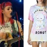Beth Lucas: 'Cat Got Your Bong' T-Shirt