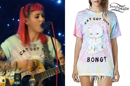 Beth Lucas: 'Cat Got Your Bong' T-Shirt