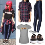 Beth Lucas: Fast Times Tee Outfit