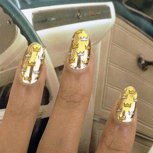 beyonc233 nails steal her style