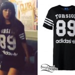 Foxes: Adidas 'Torsion 89' Jersey Dress