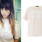 Foxes: Cream Parental Advisory T-Shirt