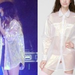 Foxes: Iridescent Oversize Shirt