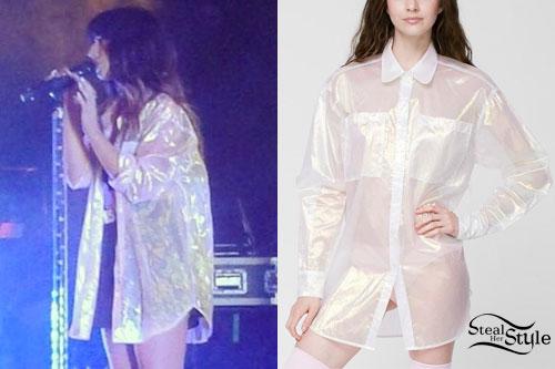 Foxes: Iridescent Oversize Shirt