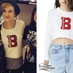 Hayley Williams: 'Bummer' Varsity Sweater