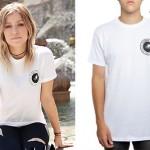 Jenna McDougall: White GK Logo T-Shirt