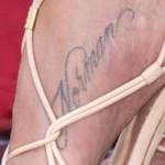 Jennifer Aniston Tattoos