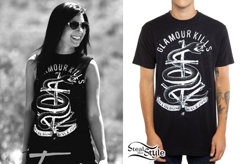 Jess Bowen: Snake & Cross Muscle Tee