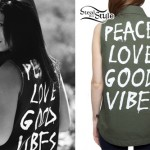 Jess Bowen: Good Vibes Army Jacket