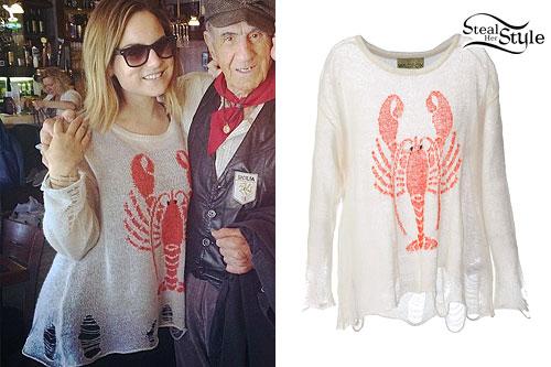 JoJo: Destroyed Lobster Sweater