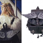 Kerli: Wings Leather Backback