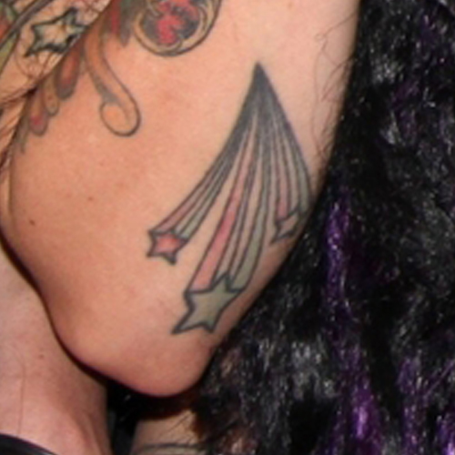 Mixi Alecia Demner Shooting Star Star Elbow Tattoo Steal Her Style