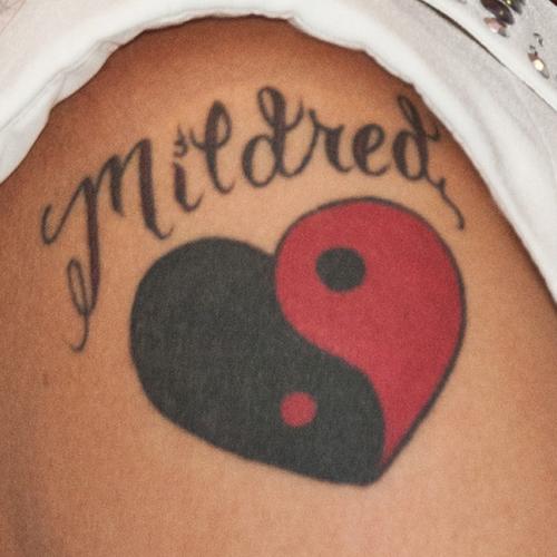 8 celebrity yin yang tattoos steal her style. Black Bedroom Furniture Sets. Home Design Ideas
