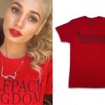 Pia Mia Perez: 'Wolfpack Kingdom' T-Shirt