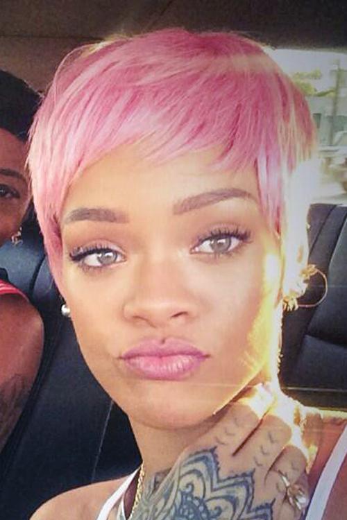 Rihanna Pixie 2014