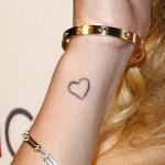 Rosie Huntington-Whiteley Tattoos