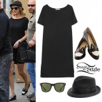 Taylor Swift: T-Shirt Dress, Bunny Shoes