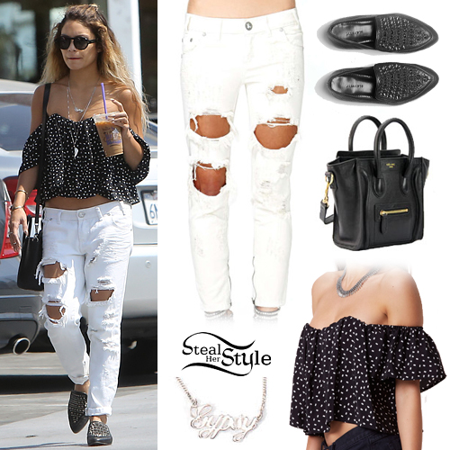 Vanessa Hudgens leaving Coffee Bean in Studio City, May 25th, 2014 - photo: vanessa-annhudgens.com