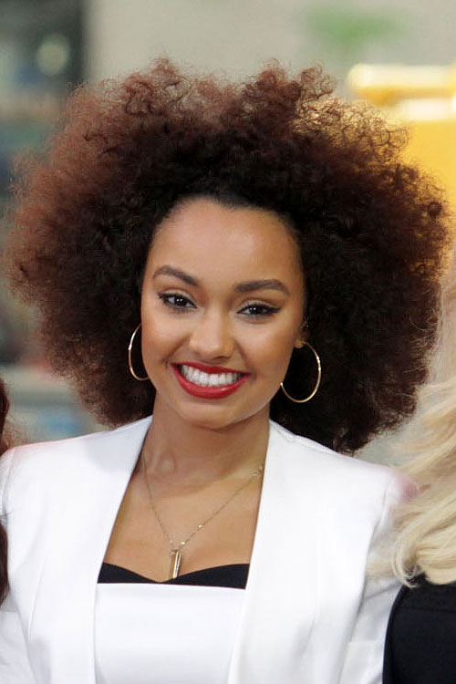 Celebrity Afro Hairstyles Steal Her Style
