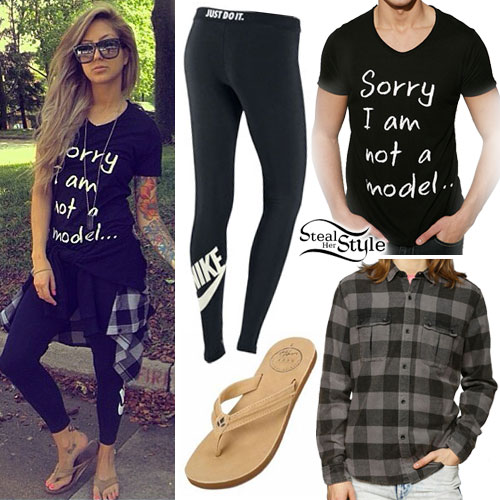 Allison Green: Sorry I Am Not A Model Tee Outfit