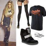 Allison Green: Orioles Baseball Tee Outfit